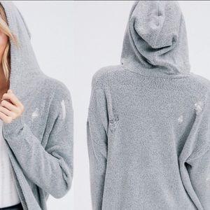 Jackets & Blazers - Distressed Sweater Cardigan! Super Trendy!